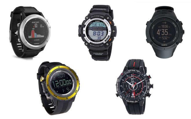 comparatif montres altimetre boussole