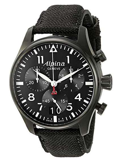 Alpina Smartimer Pilot Watch